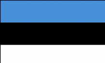 ESTONIA - HAND WAVING FLAG (MEDIUM)